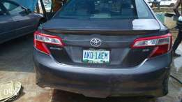 Toyota Camry 2013 model (Nigeria used)