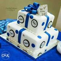 Cakes, small chops and pastries