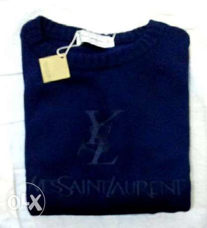Pullover YSL for men, wool
