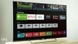 "55"" SONY SMART 4K ANDROID T.V Brand New Model 55X8500E Pay on deliver"