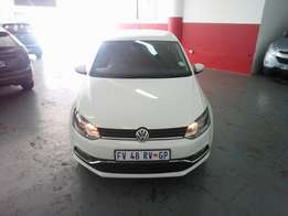 2016 Polo 6 TSI 1.2, Color White, Price R169,200.