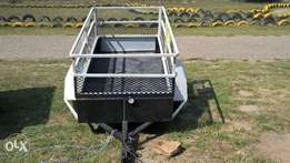 Trailer for sale , 2m by 1m, recently serviced.