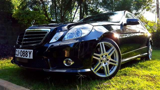 Glossy Black Mercedes E250 CGI AMG Sport Package. Call Owner Directly Lavington - image 3