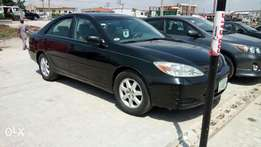 Black Colored 4 Months Registered Toyota Camry LE 2004 Model.
