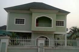 A tastefully finished 5bedroom detached duplex with 2room BQ at Maitam
