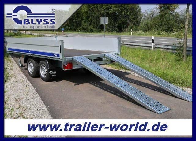 Blyss Hochlader Anhänger 2700kg GG 330x180x40cm AFS