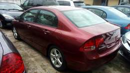 Super clean Honda civic 2008 model accident free Lagos cleared
