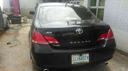 Toyota Avalon (Few months Registered)