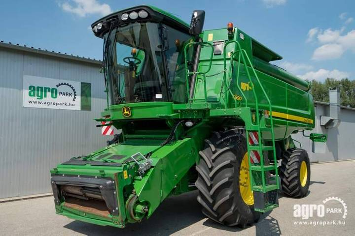 John Deere S690 (1149/1930 Hours) 13.5 Liter Engine, 630r - 2008