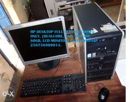 Full set desktop computer for sale