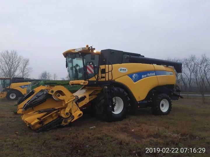 New Holland Cx8070 4 Wd - 2010