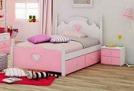 Kolekcja Mebli Dla Dziewczynki Mary Neo Pink 120 4 Piękne