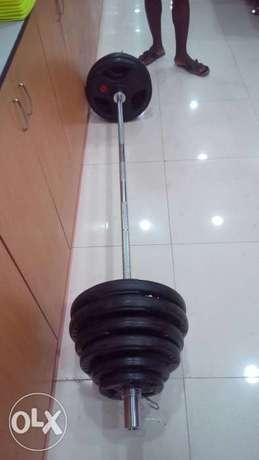 American Fitness Olympic barbell Abong - image 4