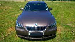 2004 BMW 530i E60 EXCLUSIVE ONLY 124500km