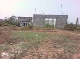 Uncompleted filling state on a four plots of land along Eneka Igwuruta