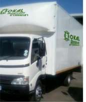 Truck for hire 4 ton closed body