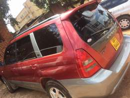 Subaru Forester on sale..very good condition red in colour