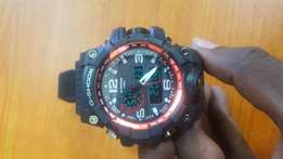 CASIO G SHOCK digital watch chrono