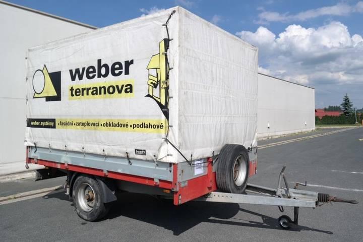 future tech ft-pv 3,5 přívěs valníkový tilt - 2005