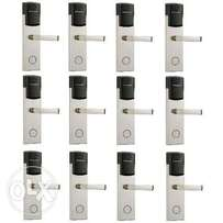 Door Lock With RFID Card Access Control - 304 Stainless - 12 Sets