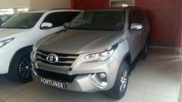 New toyota fortuner 2.8GD 4X4 automatic brand new