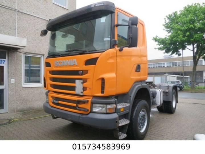 Scania G 360 4x4 Kipphydraulik ,Diff, Schalter - 2010