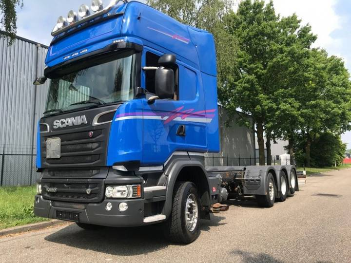 Scania R520 LB8X2/4HNB OPTICRUISE VOLLUCHT ADR PTO - 2014