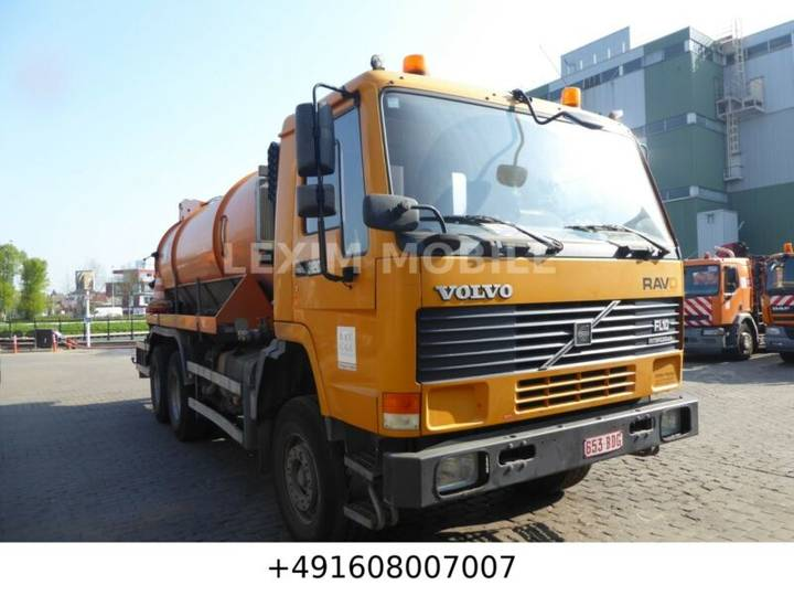 Volvo FL 10,  320 PS,  6X4, original, - 1996