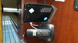 Cordless office phone and router for sale