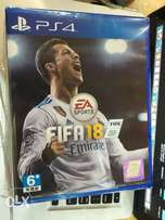 fifa 2018 for Ps4 . New