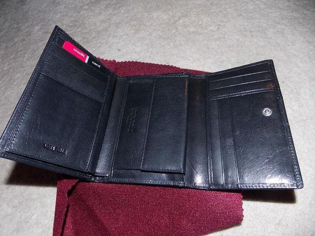 3b78dc0bad5d1 Oryginalny czarny portfel Pierre Cardin dobry na prezent Kraków - image 1