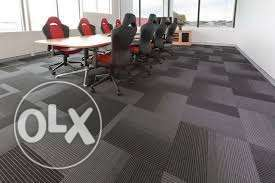 Carpet tile for office
