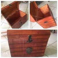 Oregon pine treasure chest (Kist)