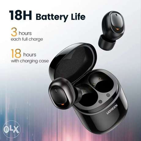 Ugreen Bluetooth Earphone 5.0 TWS True Wireless Earbuds Stereo Handsfr الرياض -  4