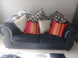 2 seater couch with cushions R1600