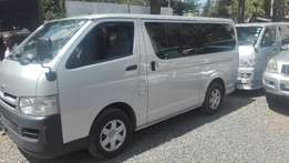 toyota hiace vans 2010/2009 auto and manual available fresh imports