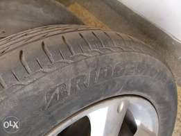 """Rims """"17 With Tyres"""
