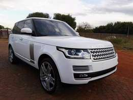 2014 range rover vogue 5.0V8 supercharge