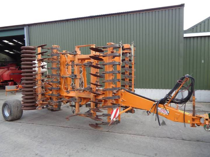 Simba Sl500 C/w Rape Stocks Seeder - 2008