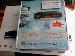 Sona star free to air decoder. HD tv receiver