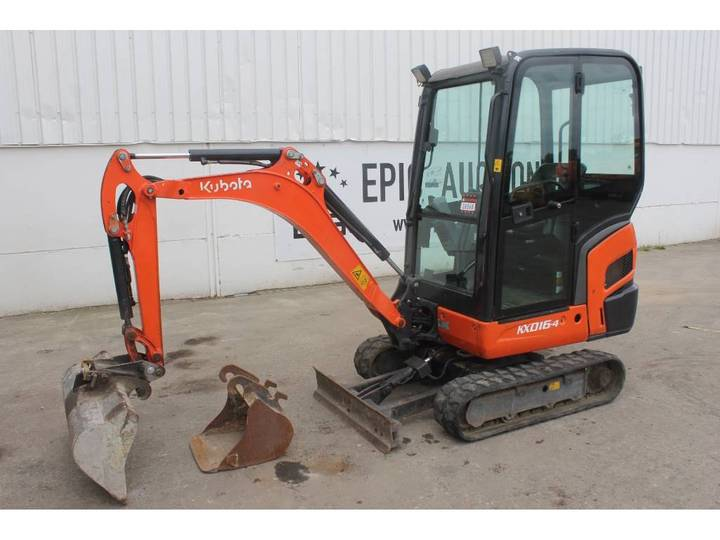 Kubota KX 016-4 Mini graafmachine - 2013