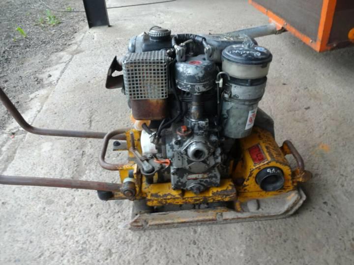 Wacker DPS 1530 Farymann Diesel Rüttler Rüttelplatte - 1991