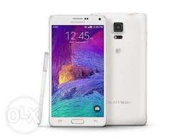 For sale Samsung galaxy note 4 White 22000
