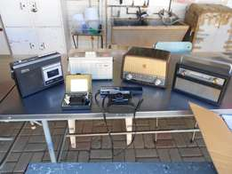 Radios &Tape Recorder for Spares or restoration