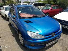 Peugeot 206 in excellent condition, Automatic