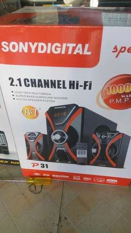 2.1 channel SONY Digital speaker Mwembe tayari - image 1