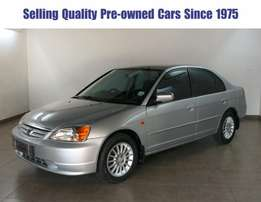 # 3156 Honda Civic 170i Sedan