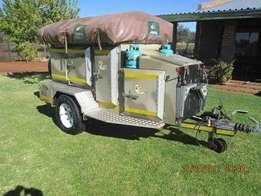 Hippo Challenger Camping 4x4 offroad trailer