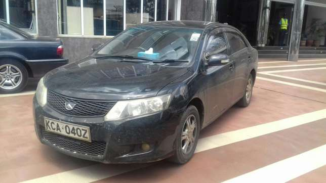 Black New shape Toyota Allion extra clean on quick sell Nairobi CBD - image 2