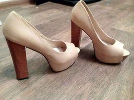42363965bce666 Босоножки, туфли с открытым носком кож зам 37 размера Каблук 12,5 см